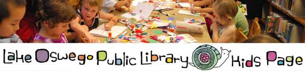 Library childrens book craft